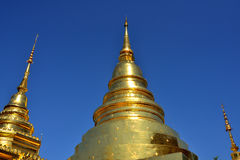 Wat Phra Singh in Chiang Mai Royalty Free Stock Image