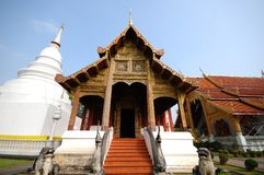 Wat Phra Singh, Chiang Mai, Thailand Royalty Free Stock Photos