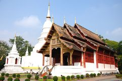 Wat Phra Singh, Chiang Mai, Thailand Royalty Free Stock Images