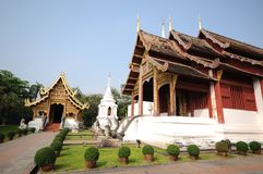 Wat Phra Singh, Chiang Mai, Thailand Stock Photography