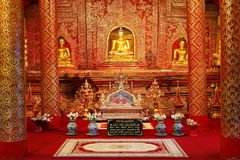 Wat Phra Singh,chiang mai,Thailand Royalty Free Stock Images