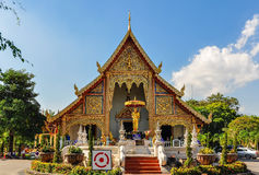 Wat Phra Singh in Chiang Mai, Thailand Stock Image