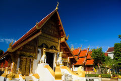 Wat Phra Singh in Chiang Rai Stock Photography