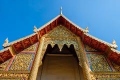 Wat Phra Singh, Chiangmai, Tajlandia obrazy royalty free