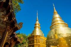 Wat Phra Singh, Chiangmai, Tajlandia fotografia stock