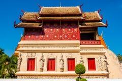 Wat Phra Singh, Chiangmai, Tajlandia zdjęcia stock