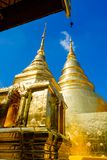 Wat Phra Singh, Chiangmai, Tajlandia zdjęcie royalty free