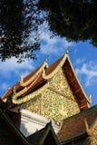Wat Phra Singh es un templo budista en Chiang Mai Foto de archivo