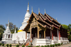 Wat Phra Singh, MAI Chiang Stock Foto