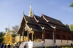 Wat Phra Singh Woramahaviharn. Buddhist temple in Chiang Mai, Thailand. Wat Phra Singh is perhaps the second most venerated temple in Chiang Mai after Wat Phra Stock Images