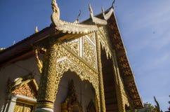 Wat Phra Singh Woramahaviharn. Buddhist temple in Chiang Mai, Thailand. Wat Phra Singh is perhaps the second most venerated temple in Chiang Mai after Wat Phra Royalty Free Stock Photography