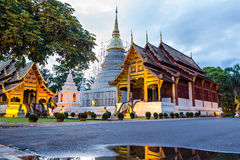 Wat Phra Singh ( Phra Singh temple) - Chiang mai, Thailand Royalty Free Stock Photography