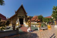 Wat Phra Singh Rai в Chiang Rai в Таиланде стоковые фото