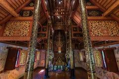 Wat Phra Singh Raja w Chiang Raja w Tajlandia Obrazy Stock