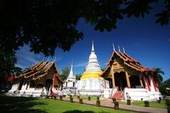 Wat Phra Singh, tempiale in Tailandia Fotografia Stock Libera da Diritti