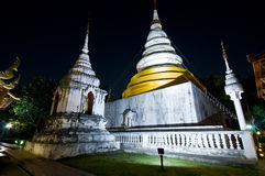Wat Phra Singh temple, Chiang Mai, Thailand Stock Photos