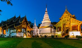 Wat Phra Singh temple in Chiang Mai, Thailand Royalty Free Stock Photo