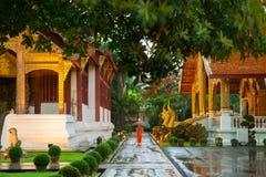 Wat Phra Singh Temple, Chiang Mai, Thailand Royalty Free Stock Photos
