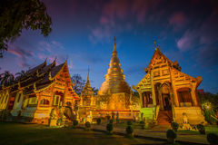 Wat Phra Singh temple in Chiang Mai,Thailand. Wat Phra Singh temple in Chiang Mai Province ,Thailand royalty free stock photo
