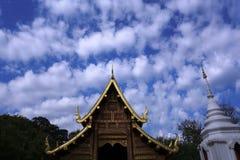 Wat Phra Singh (temple de Phra Singh) Images libres de droits