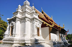 Wat Phra Singh. Is a Theravada Buddhist temple in Chiang Mai, Thailand royalty free stock images