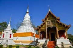 Wat Phra Singh Woramahaviharn Lizenzfreie Stockbilder