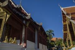 Wat Phra Singh Woramahaviharn Buddhistischer Tempel in Chiang Mai, Thailand stockfoto