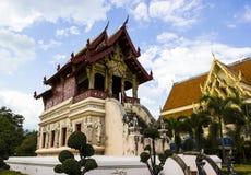 Wat Phra Singh Woramahaviharn Stock Photography