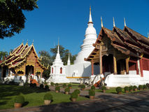 Wat Phra Singh Woramahaviharn Royalty Free Stock Photography