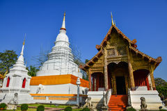 Wat Phra Singh Woramahaviharn Royalty Free Stock Images