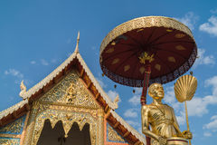 Wat Phra Singh Woramahaviharn temple in Chiang Mai, Thailand Royalty Free Stock Images