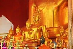 Buddha Image In Wat Phra Singh, Chiang Mai, Thailand Royalty Free Stock Photo