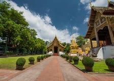 Wat Phra Singh Worawihan stock images