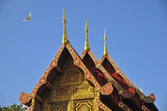 Wat Phra Singha, Thai lanna temple at Chiangmai province Thailan Stock Images