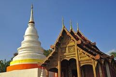Wat Phra Singha, Thai lanna temple at Chiangmai province Thailan Royalty Free Stock Image