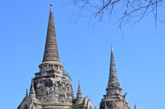 Wat Phra SiSanphet Ayuthaya, Ταϊλάνδη Στοκ φωτογραφία με δικαίωμα ελεύθερης χρήσης