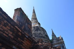 Wat Phra SiSanphet Ayuthaya, Tajlandia obrazy royalty free