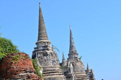 Wat Phra SiSanphet Ayuthaya, Tajlandia fotografia royalty free