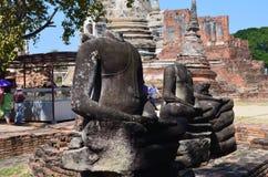 Wat Phra SiSanphet Ayuthaya, Thailand Royaltyfri Bild