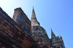 Wat Phra SiSanphet Ayuthaya, Thailand Royaltyfria Bilder