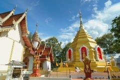 Wat Phra That Sob Fang Arkivbilder