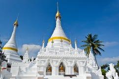 Wat Phra som Doi Kong Mu tempel, Thailand. Arkivbild