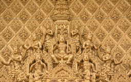 Wat Phra Sri Arm Ratchaburi Stock Photo