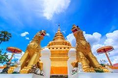 Wat Phra Sri Chomtong, Thaïlande Photo libre de droits