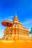 Wat Phra Sri Chomtong Thailand Royaltyfria Foton