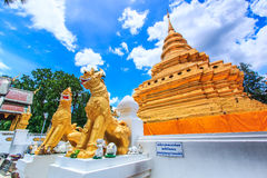 Wat Phra Sri Chomtong, Thailand Royalty Free Stock Images
