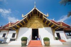 Wat Phra That Sri Jom Thong, Chiangmai Province, Thailand Stock Images