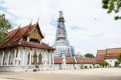Wat phra sri mahatrat,最著名的寺庙 图库摄影