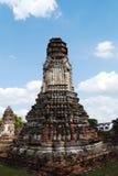 Wat Phra Sri Ratana Mahathat, Tailândia, pagode Imagens de Stock Royalty Free