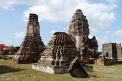 Wat Phra Sri Ratana Mahathat Thailand, pagod Arkivfoto